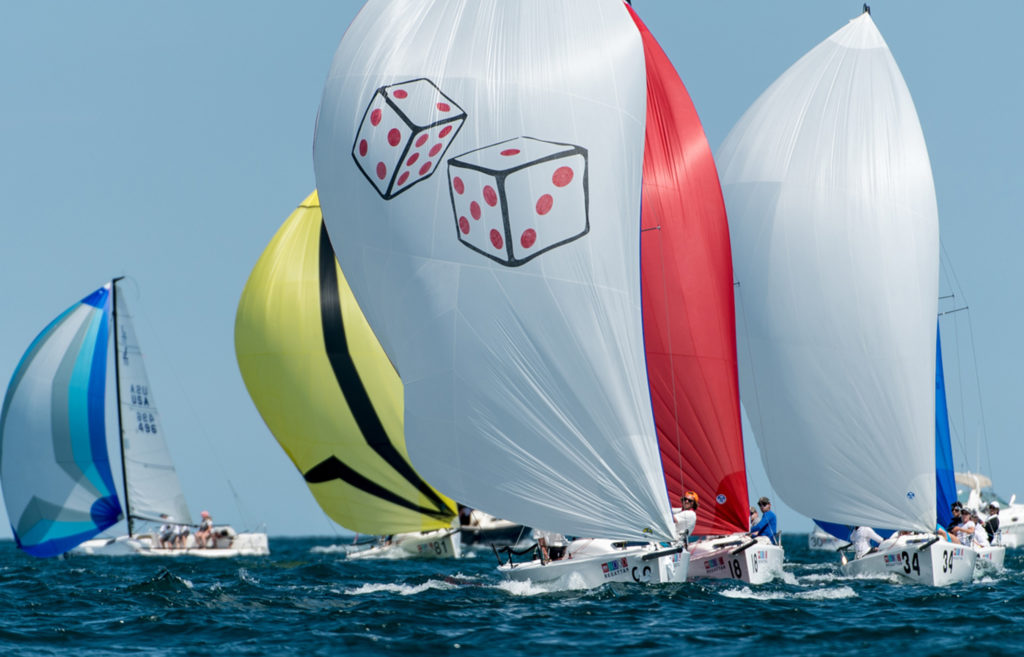 MarbleHead, Massachusetts (USA) The last event of the 2016 Helly Hansen NOOD REGATTA SERIES hosted by the Boston Yacht Club (BYC) July 28th to 31st. Saturday had a light but steady wind from the east and all racing got away on time. ©Paul Todd/OUTSIDEIMAGES.COM OUTSIDE IMAGES PHOTO AGENCY